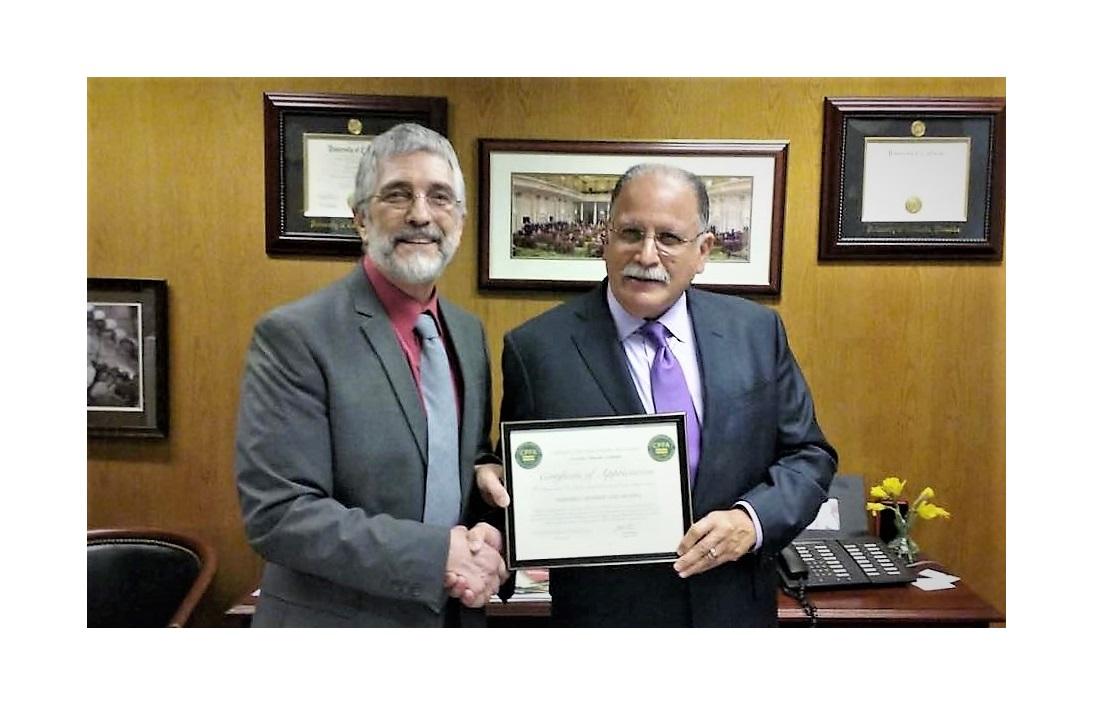 CPFA Thanks Assembly Member Jose Medina