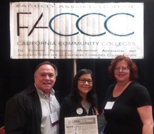 Juanita Chavez, David Milroy, and Carol Whaley
