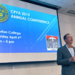 2019-conference-welcome-speech-with-projector